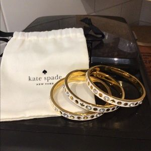 Kate Spade bangles Set of 3